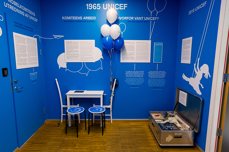 "Copyright © Johannes Granseth From the exhibition opening of ""1965 UNICEF""."
